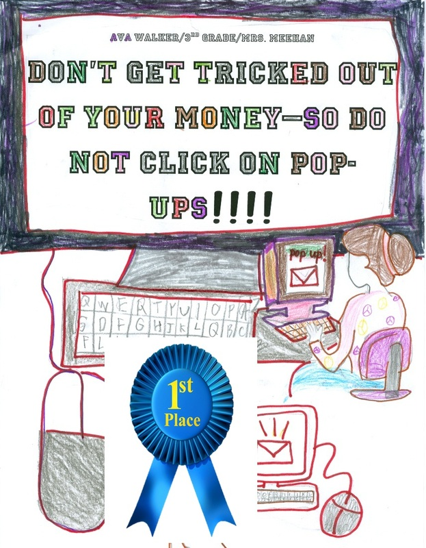Internet Safety Poster Contest Mrs Bevill Computer